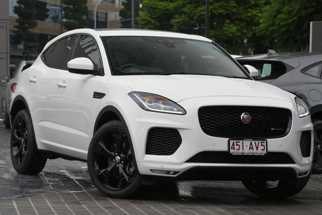Used Jaguar E-PACE X540 19MY Newstead, 2019 Jaguar E-PACE X540 19MY White 9 Speed Sports Automatic Wagon