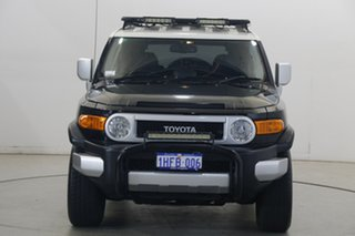 2014 Toyota FJ Cruiser GSJ15R MY14 Black 5 Speed Automatic Wagon.