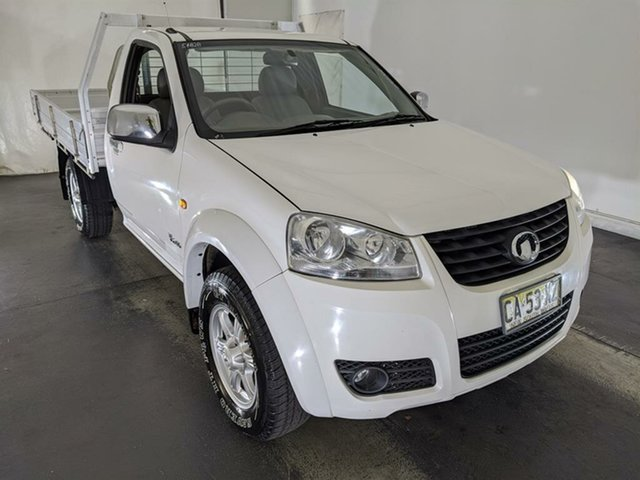 Used Great Wall V240 K2 MY14 4x2 Maryville, 2014 Great Wall V240 K2 MY14 4x2 White 5 Speed Manual Cab Chassis