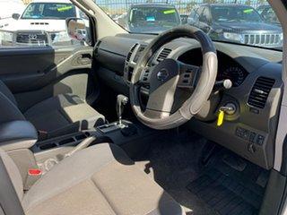 2010 Nissan Navara D40 ST (4x4) Silver 5 Speed Automatic Dual Cab Pick-up