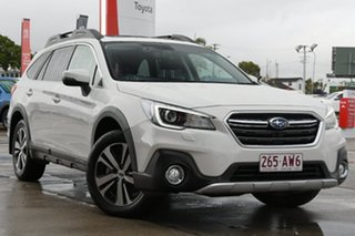 2019 Subaru Outback B6A MY19 2.5i CVT AWD Premium White 7 Speed Constant Variable Wagon.