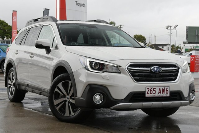 Pre-Owned Subaru Outback B6A MY19 2.5i CVT AWD Premium Albion, 2019 Subaru Outback B6A MY19 2.5i CVT AWD Premium White 7 Speed Constant Variable Wagon