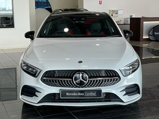 2019 Mercedes-Benz A-Class V177 A200 DCT White 7 Speed Sports Automatic Dual Clutch Sedan
