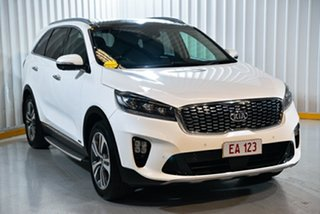 2018 Kia Sorento UM MY19 GT-Line (4x4) White 8 Speed Automatic Wagon