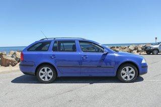 2007 Skoda Octavia 1Z Elegance Blue 6 Speed Manual Wagon.