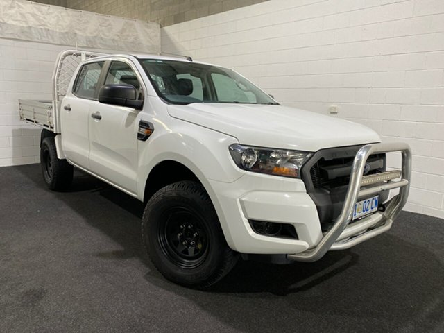 Used Ford Ranger PX MkII XL Glenorchy, 2016 Ford Ranger PX MkII XL White 6 Speed Sports Automatic Cab Chassis