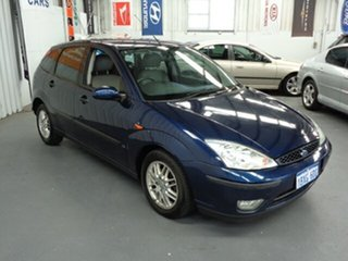 2003 Ford Focus LR MY2003 LX Blue 4 Speed Automatic Hatchback