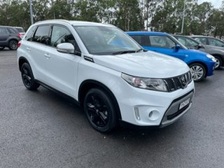 2017 Suzuki Vitara LY S Turbo 2WD White 6 Speed Sports Automatic Wagon.