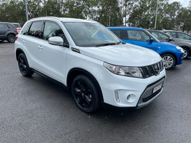 Used Suzuki Vitara LY S Turbo 2WD Maitland, 2017 Suzuki Vitara LY S Turbo 2WD White 6 Speed Sports Automatic Wagon