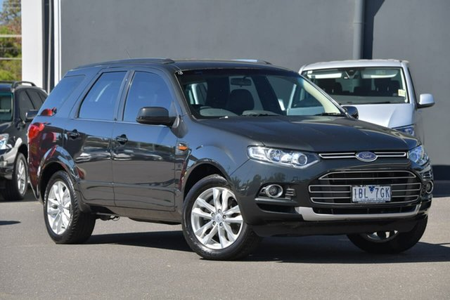 Used Ford Territory SZ TS Seq Sport Shift Moorabbin, 2014 Ford Territory SZ TS Seq Sport Shift Black 6 Speed Sports Automatic Wagon