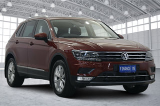 2017 Volkswagen Tiguan 5N MY17 162TSI DSG 4MOTION Highline Red 7 Speed Sports Automatic Dual Clutch.
