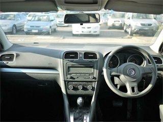 2011 Volkswagen Golf VI 77TSI Silver Sports Automatic Dual Clutch Hatchback