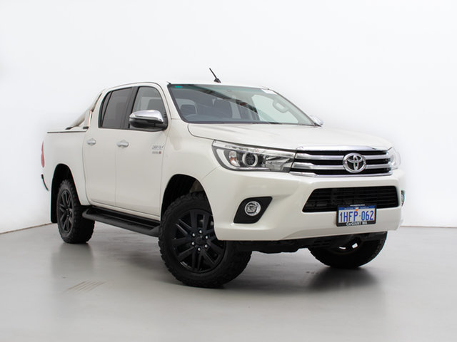 Used Toyota Hilux GUN126R MY19 SR5 (4x4), 2018 Toyota Hilux GUN126R MY19 SR5 (4x4) White 6 Speed Automatic Double Cab Pick Up