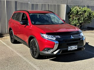 2020 Mitsubishi Outlander ZL MY21 Black Edition AWD Red Diamond 6 Speed Constant Variable Wagon.
