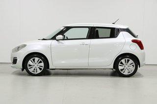 2019 Suzuki Swift AL GL Navi White Continuous Variable Hatchback