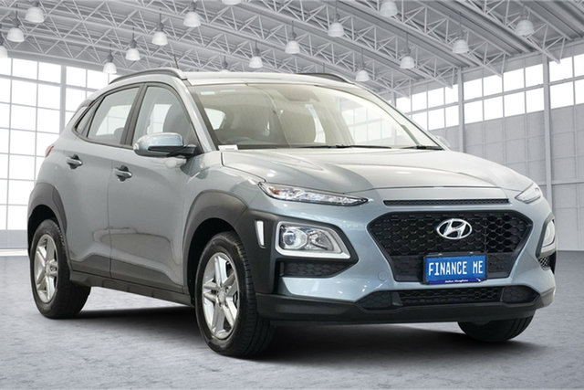 Used Hyundai Kona OS.3 MY20 Active 2WD Victoria Park, 2019 Hyundai Kona OS.3 MY20 Active 2WD Lake Silver 6 Speed Sports Automatic Wagon
