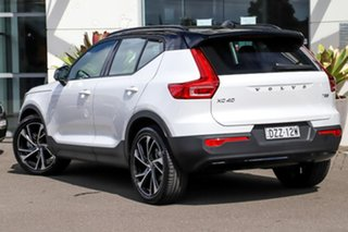 2020 Volvo XC40 XZ MY20 T5 AWD R-Design White 8 Speed Sports Automatic Wagon.