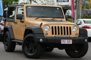 2014 Jeep Wrangler JK MY2014 Sport Yellow 5 Speed Automatic Softtop