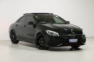 2017 Mercedes-Benz CLA250 117 MY17.5 4Matic Black 7 Speed Auto Dual Clutch Coupe.