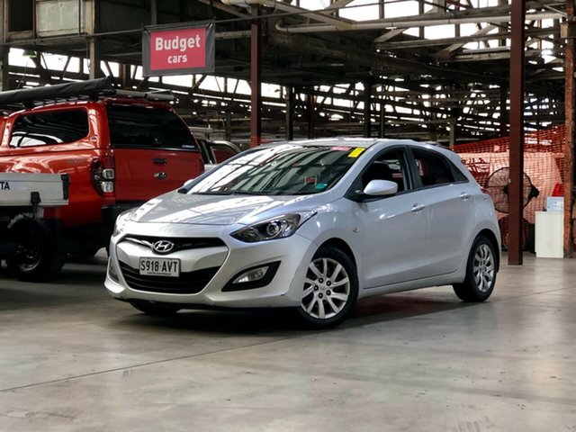 Used Hyundai i30 GD Active Mile End South, 2012 Hyundai i30 GD Active Silver 6 Speed Sports Automatic Hatchback