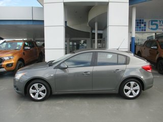 2012 Holden Cruze JH MY13 CD Equipe Grey 6 Speed Automatic Hatchback.