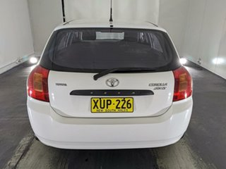 2001 Toyota Corolla ZZE122R Ascent White 5 Speed Manual Hatchback