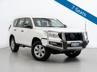 2018 Toyota Landcruiser Prado GDJ150R MY17 GX (4x4) White 6 Speed Automatic Wagon.
