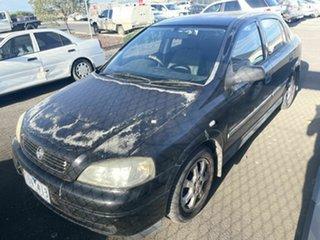2005 Holden Astra TS CD Classic Black 5 Speed Manual Sedan.