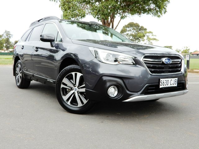 Used Subaru Outback B6A MY19 2.5i CVT AWD Glenelg, 2018 Subaru Outback B6A MY19 2.5i CVT AWD Dark Grey 7 Speed Constant Variable Wagon