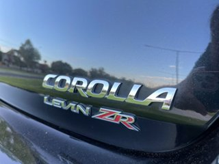 2013 Toyota Corolla ZRE182R Levin S-CVT ZR Black 7 Speed Constant Variable Hatchback