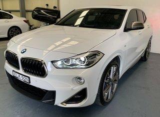 2018 BMW X2 F39 M35i Coupe Steptronic AWD White 8 Speed Sports Automatic Wagon.