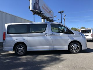 2019 Toyota Granvia GDH303R VX Silver Pearl 6 Speed Sports Automatic Wagon.