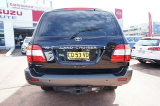 2005 Toyota Landcruiser UZJ100R GXL (4x4) Black 5 Speed Automatic Wagon