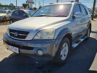 2004 Kia Sorento BL EX Silver 4 Speed Automatic Wagon