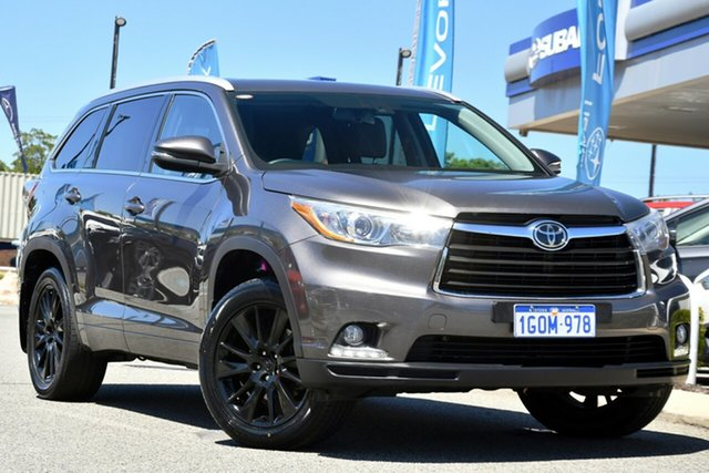 Used Toyota Kluger GSU50R Grande 2WD Melville, 2015 Toyota Kluger GSU50R Grande 2WD Grey 6 Speed Sports Automatic Wagon