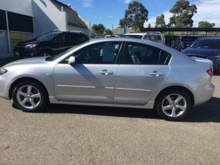 2005 Mazda 3 BK10F1 Maxx Sport Billet Silver 4 Speed Sports Automatic Sedan.