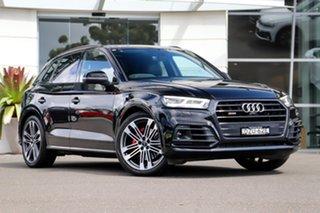 2018 Audi SQ5 FY MY19 Black Edition Tiptronic Quattro Black 8 Speed Sports Automatic Wagon.