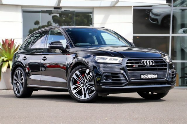 Used Audi SQ5 FY MY19 Black Edition Tiptronic Quattro Sutherland, 2018 Audi SQ5 FY MY19 Black Edition Tiptronic Quattro Black 8 Speed Sports Automatic Wagon