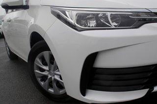 2017 Toyota Corolla ZRE172R Ascent S-CVT Glacier White 7 Speed Constant Variable Sedan.