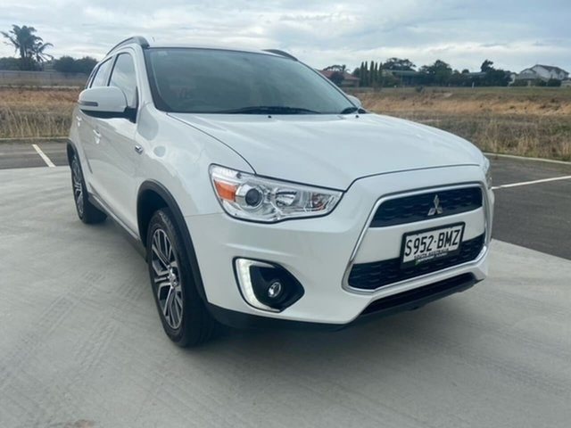 Used Mitsubishi ASX XC MY17 LS 2WD Victor Harbor, 2016 Mitsubishi ASX XC MY17 LS 2WD White 6 Speed Constant Variable Wagon