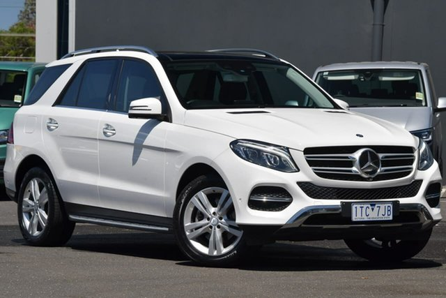Used Mercedes-Benz GLE-Class W166 GLE250 d 9G-Tronic 4MATIC Moorabbin, 2016 Mercedes-Benz GLE-Class W166 GLE250 d 9G-Tronic 4MATIC White 9 Speed Sports Automatic Wagon