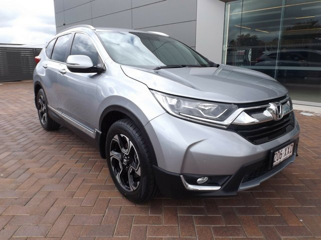 Used Honda CR-V RW MY18 VTi-S 4WD Toowoomba, 2017 Honda CR-V RW MY18 VTi-S 4WD Silver 1 Speed Constant Variable Wagon