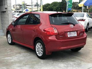 2009 Toyota Corolla ZRE152R Edge Red 6 Speed Manual Hatchback.