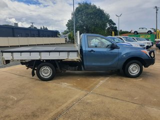 2012 Mazda BT-50 UP0YD1 XT 4x2 Gunmetal Blue 6 Speed Manual Cab Chassis