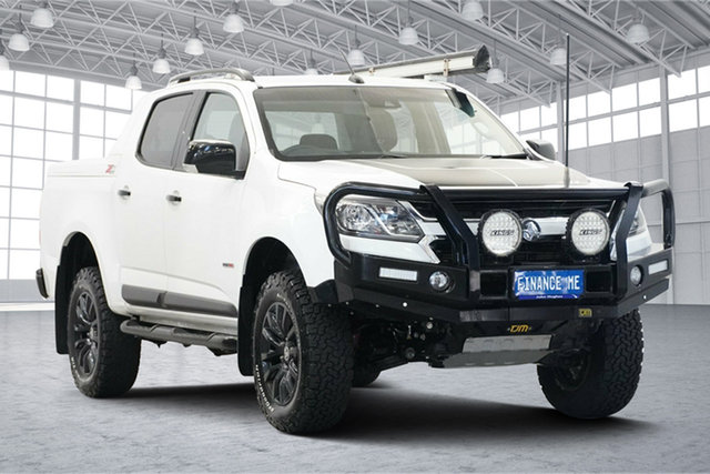 Used Holden Colorado RG MY20 Z71 Pickup Crew Cab Victoria Park, 2019 Holden Colorado RG MY20 Z71 Pickup Crew Cab White 6 Speed Sports Automatic Utility