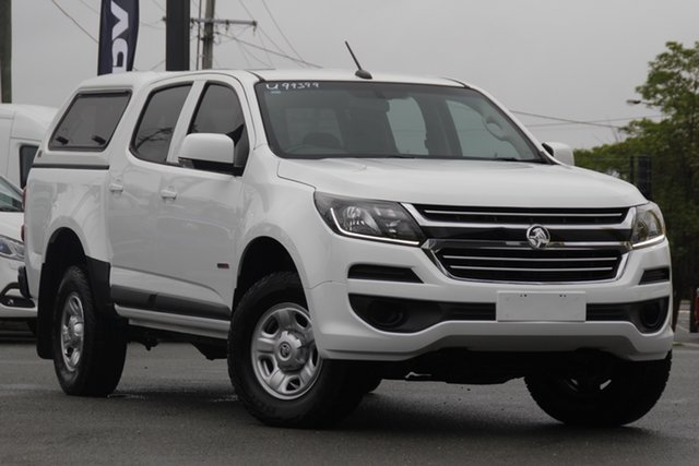 Used Holden Colorado RG MY17 LS Pickup Crew Cab 4x2 Rocklea, 2017 Holden Colorado RG MY17 LS Pickup Crew Cab 4x2 Summit White 6 Speed Sports Automatic Utility