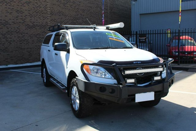 Used Mazda BT-50 MY13 XT Hi-Rider (4x2) Hoppers Crossing, 2014 Mazda BT-50 MY13 XT Hi-Rider (4x2) White 6 Speed Automatic Dual Cab Utility