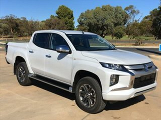 2020 Mitsubishi Triton MR MY21 GLX-R Double Cab White Diamond 6 Speed Sports Automatic Utility.