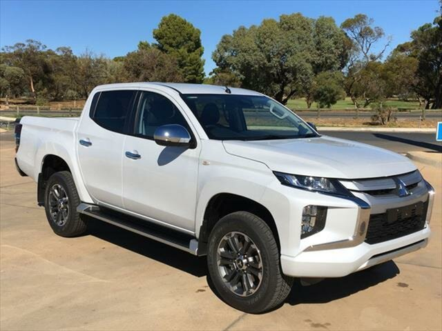 New Mitsubishi Triton MR MY21 GLX-R Double Cab Berri, 2020 Mitsubishi Triton MR MY21 GLX-R Double Cab White Diamond 6 Speed Sports Automatic Utility