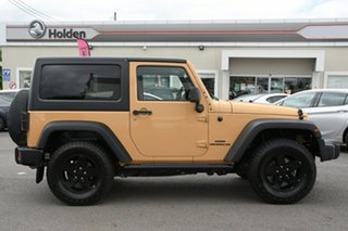 2014 Jeep Wrangler JK MY2014 Sport Yellow 5 Speed Automatic Softtop.